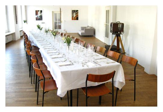 Koch Event Location Bouqe auf Crouqe München